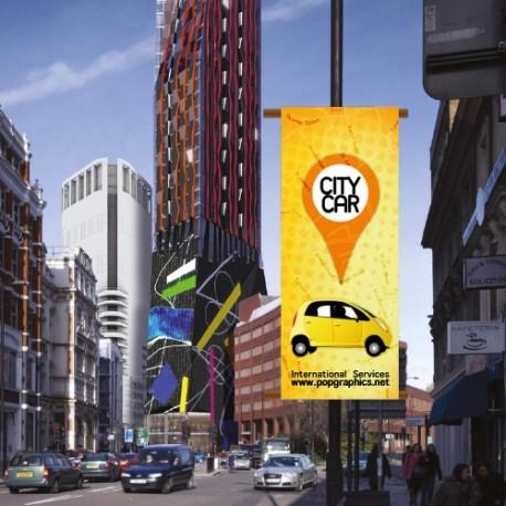 Διαφημιστικά Λάβαρα για κολώνες