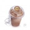 Αυτοκόλλητα για καπάκια ποτηριών καφέ