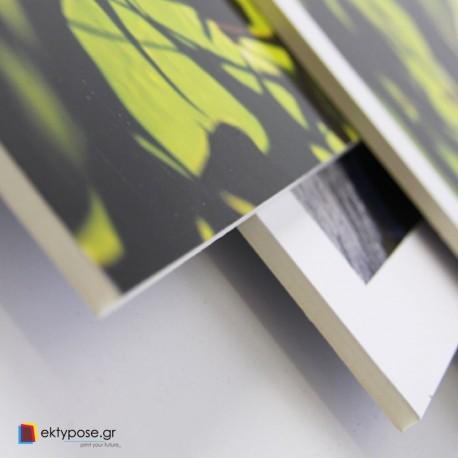 Αυτοκόλλητο Με Εκτύπωση Επικολλημένο σε Kapamount Πάχους 10mm