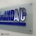 Αυτοκόλλητο Με Εκτύπωση Επικολλημένο σε Plexiglass Πάχους 3mm
