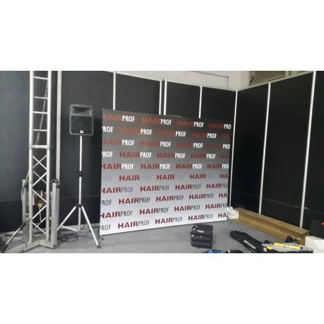 Κατασκευή 2m x 2m (με βάσεις) κατάληλη για φωτογραφίσεις (event,party,εγκαίνια,cafe-bar)
