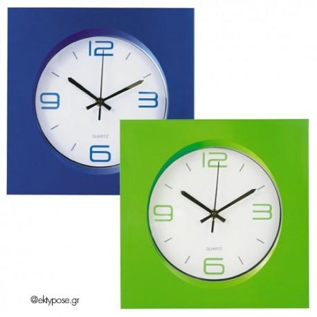 Ρολόι τοίχου με εκτύπωση