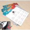 Μαγνητικό Ημερολόγιο 2017 με Εκτυπωμένο το λογότυπο σας