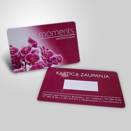 Πλαστικές κάρτες (pvc)