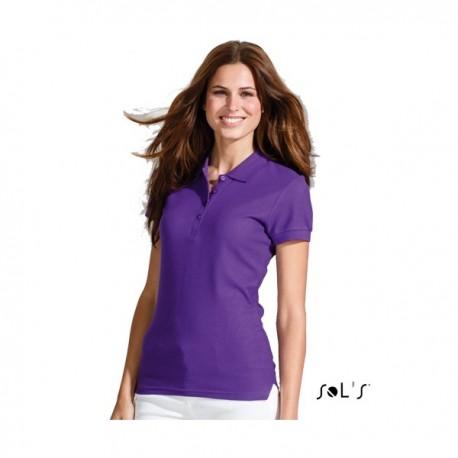 SOL'S PEOPLE - Γυναικείο Polo Μπλουζάκι με εκτύπωση
