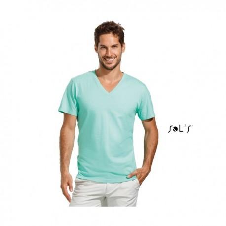"SOL'S MASTER Ανδρικό t-shirt με λαιμόκοψη ""V"" με εκτύπωση"