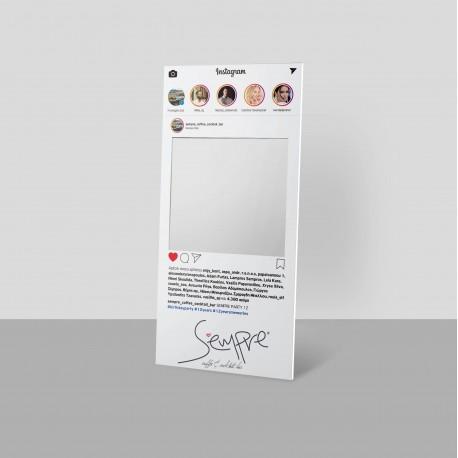 Ειδική κατασκευή απο Kappa - Fix 10mm με κοπτικό για φωτογραφίσεις  (instagram - facebook )