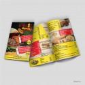 Έντυπα Α5 ( κλειστό ) 8 σέλιδο με καρφίτσα