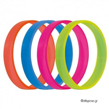 Βραχιολάκι πλαστικό (Fluo Colors) 2014