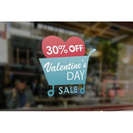 30% OFF Valentine's Day