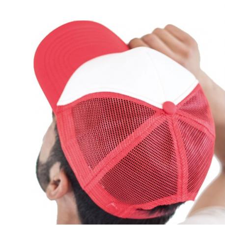 Πεντάφυλλο καπέλο τζόκεϊ με δίχτυ