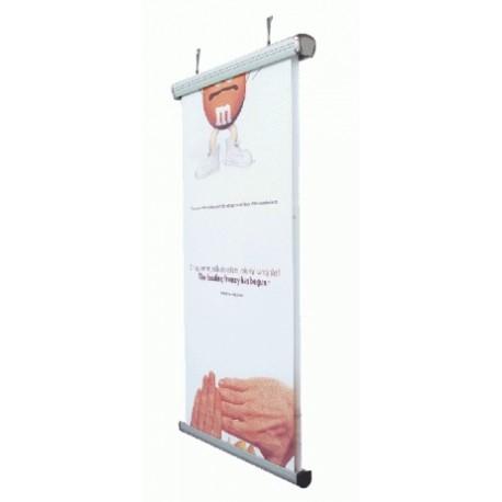 Ηλεκτρικό Roll up oροφής - τοίχου ( Wall Scrolling )
