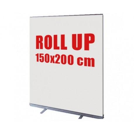 Rollup Stand Banner 150 x200  ( Με δώρο βαλιτσάκι μεταφοράς)