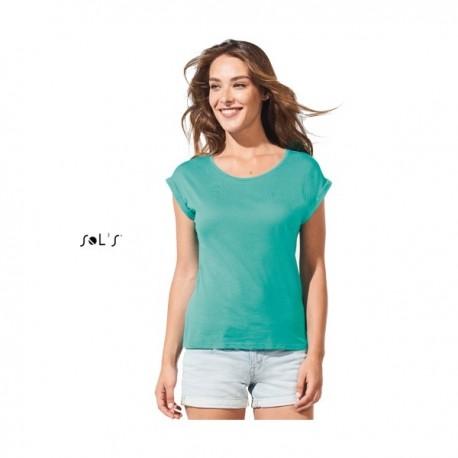SOL'S MELBA - γυναικείο μπλουζάκι με στρογγυλή λαιμόκοψη- με εκτύπωση