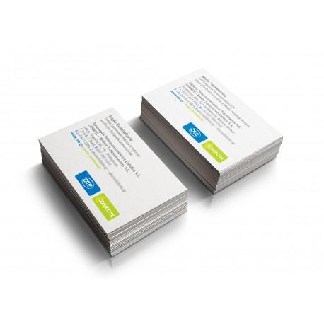 Επαγγελματικές Κάρτες με πλαστικοποίηση
